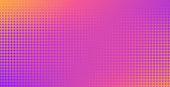 Vector background Halftone dot pattern. Retro texture
