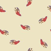 vector background with birds
