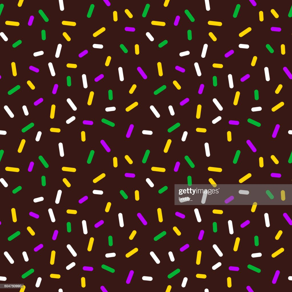 Vector Background with Sprinkles