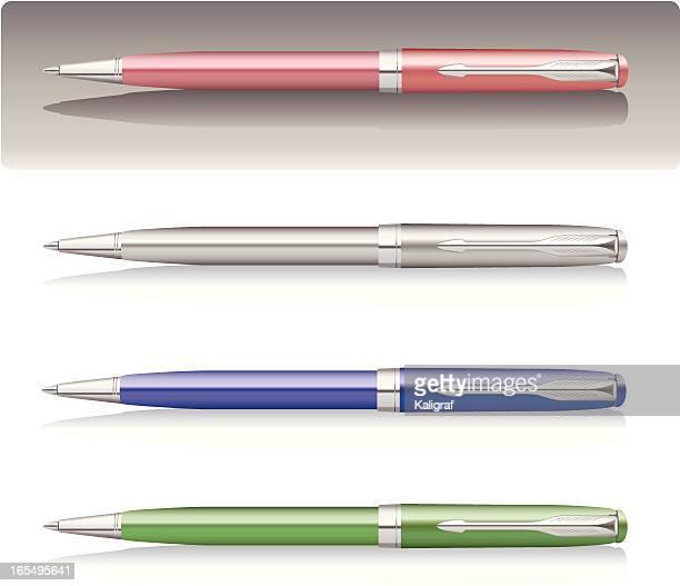 Vector Ballpoint Pen