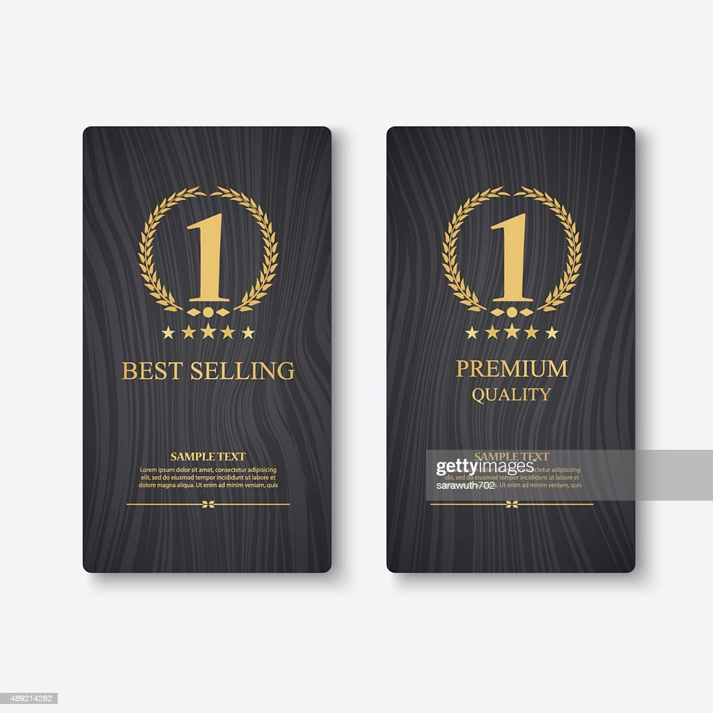 Vector banner, Best selling