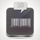 Vector Bar code app icon