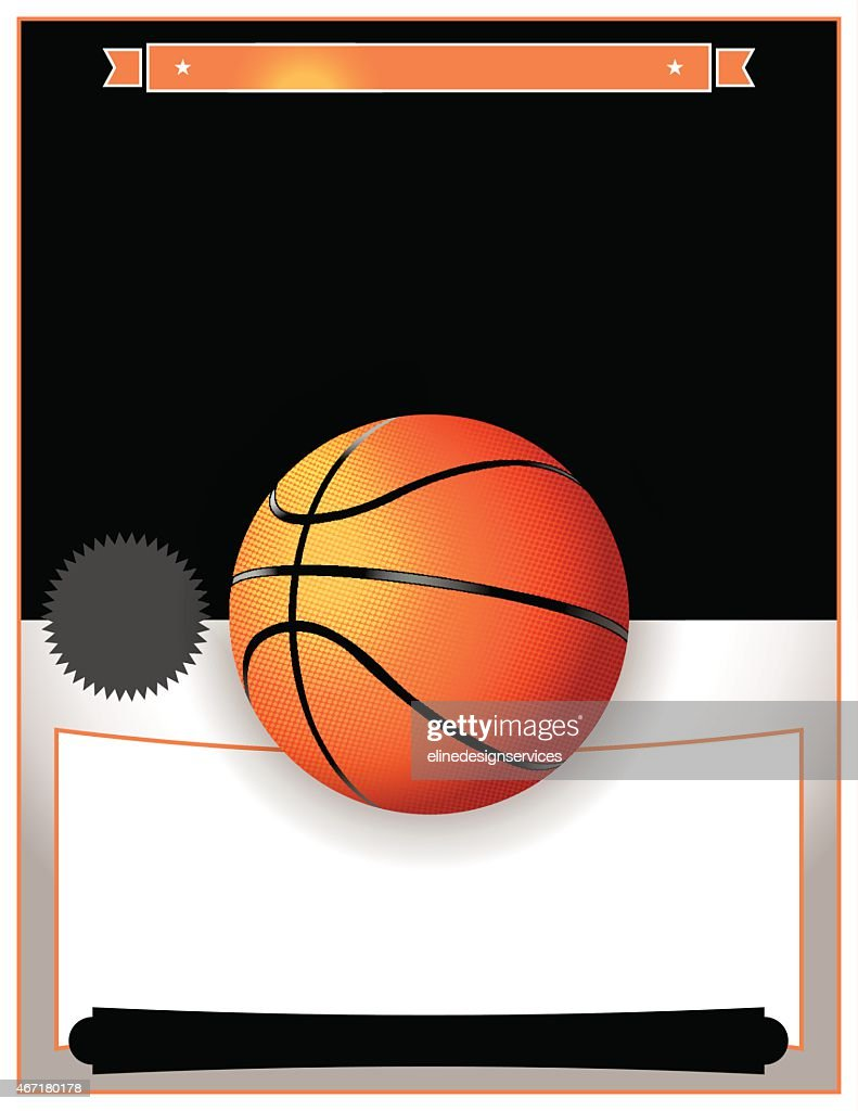 Vector Basketball Tournament Illustration