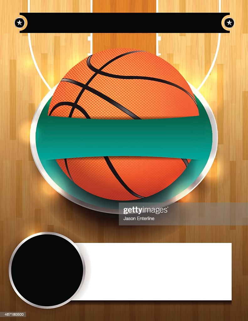 Vector Basketball Tournament Template