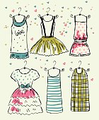 Vector beautiful clothes
