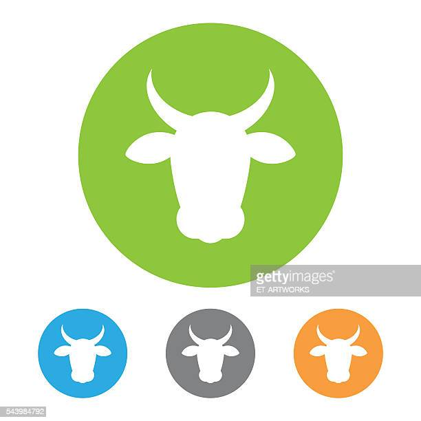 Vector beef icon