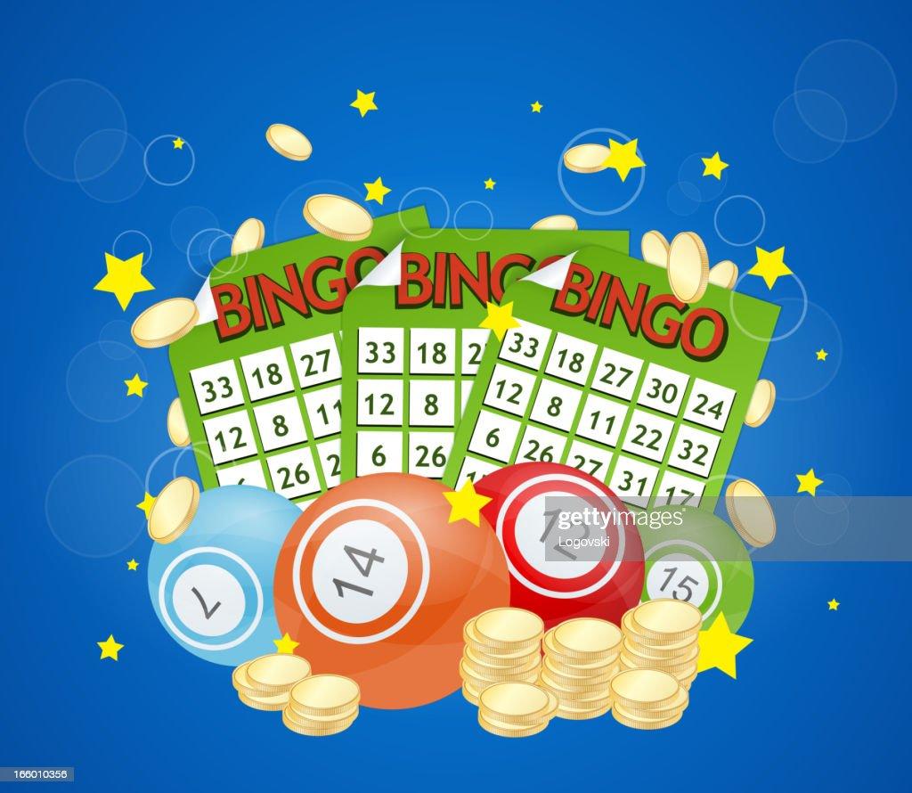 Vector Bingo : stock illustration