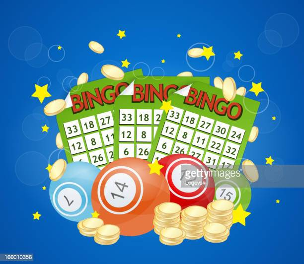 vector bingo - bingo stock illustrations