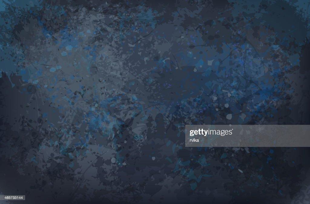 Vector black grunge texture background.