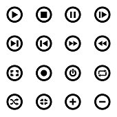 Free download of Pause Button, red, for media player Vector Graphic - Vector.me