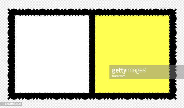 vector blank old-fashioned picture frame textured isolated - large format camera stock illustrations, clip art, cartoons, & icons