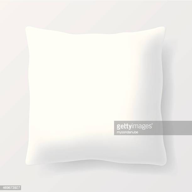 vector blank square pillow