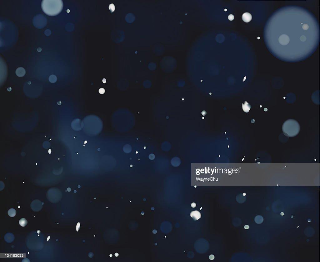 Vector Blue Defocus Light