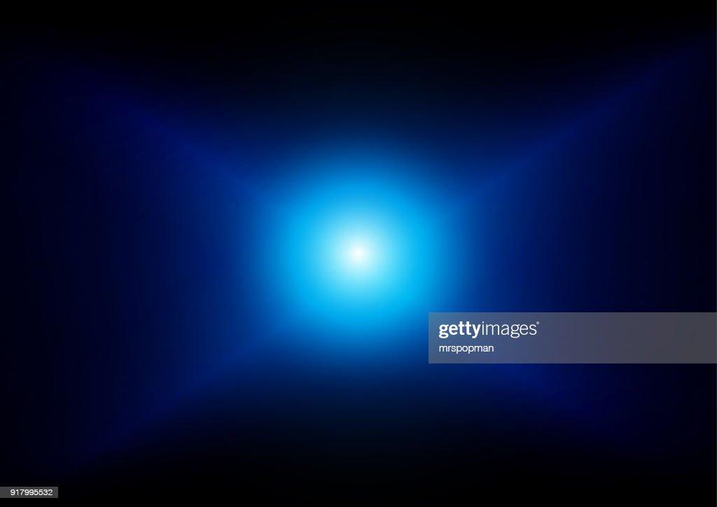 vector blue light effect background. illustration vector design