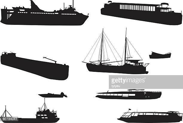 Vektor-Boote