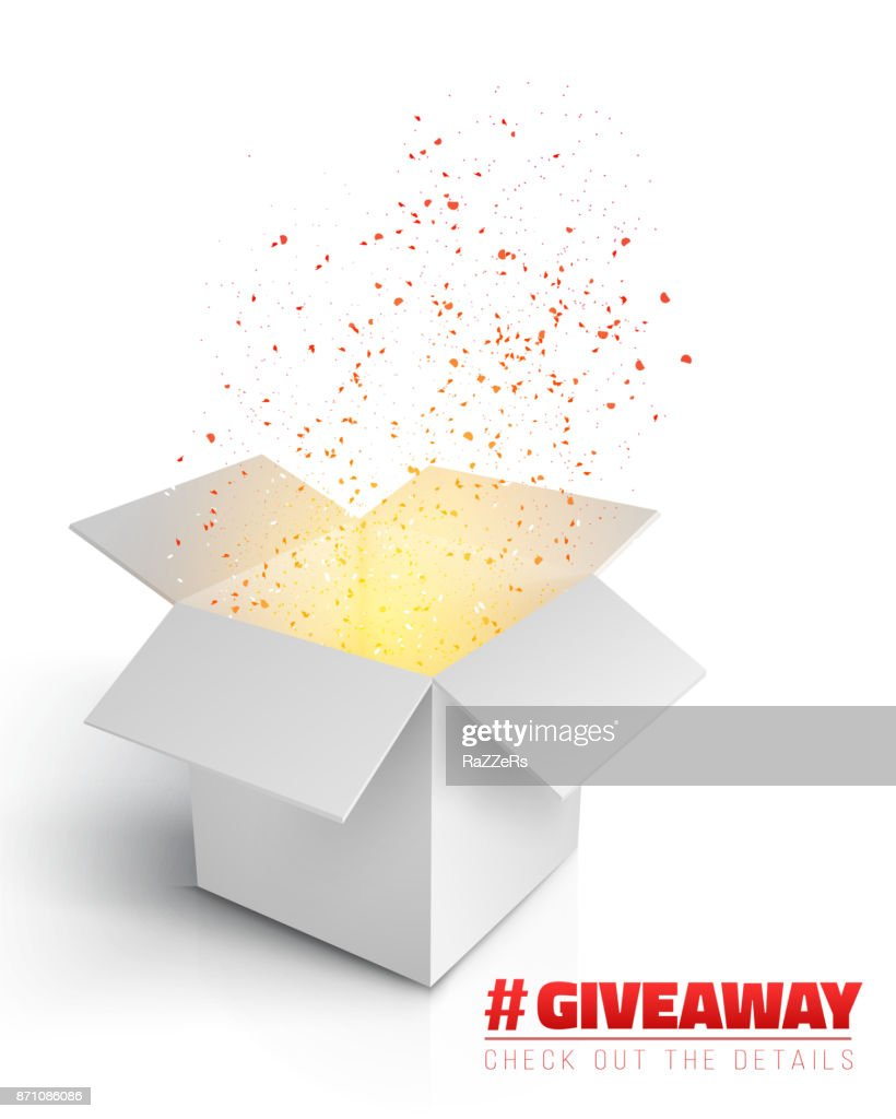Vector Box Giveaway Competition Template