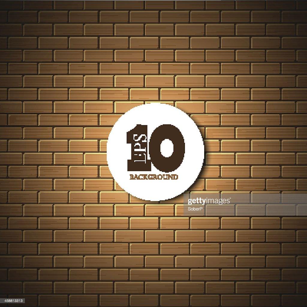 vector brick wall background