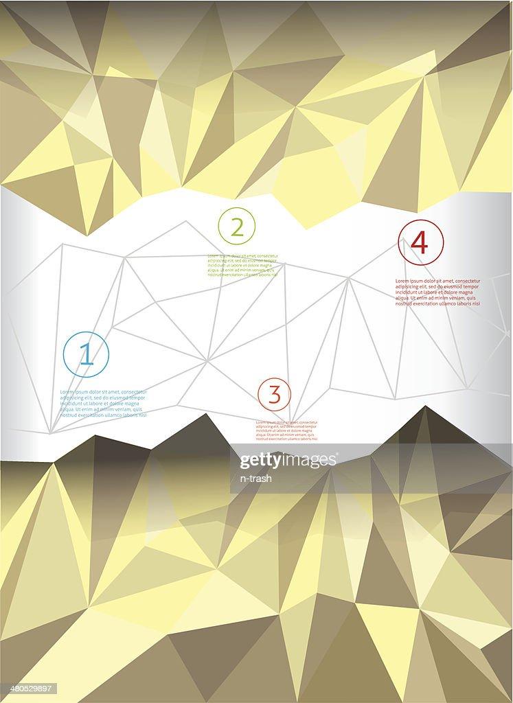 Vector brochure cover template : Vector Art