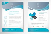 Vector Brochure Flyer design Layout template, size A4