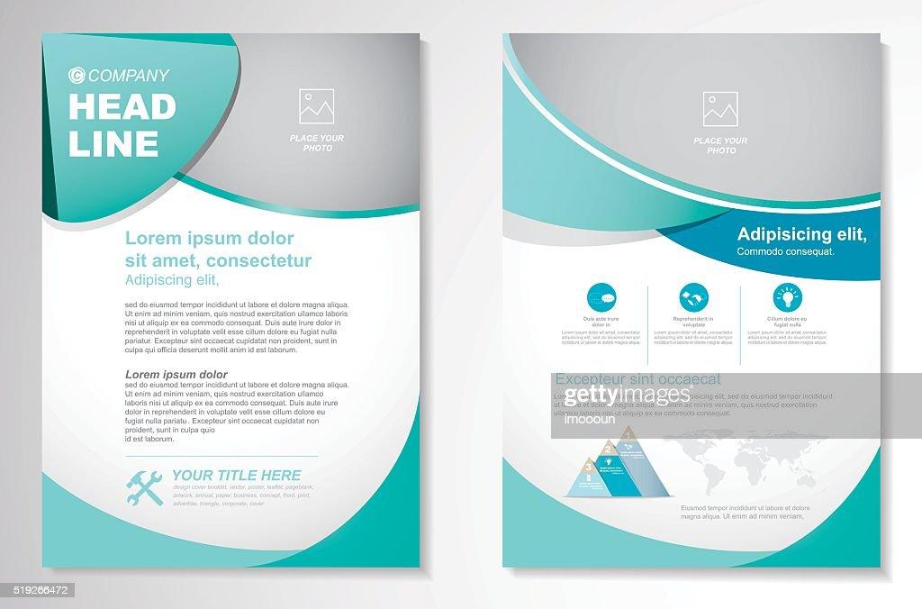 Vector Brochure Flyer design Layout template,