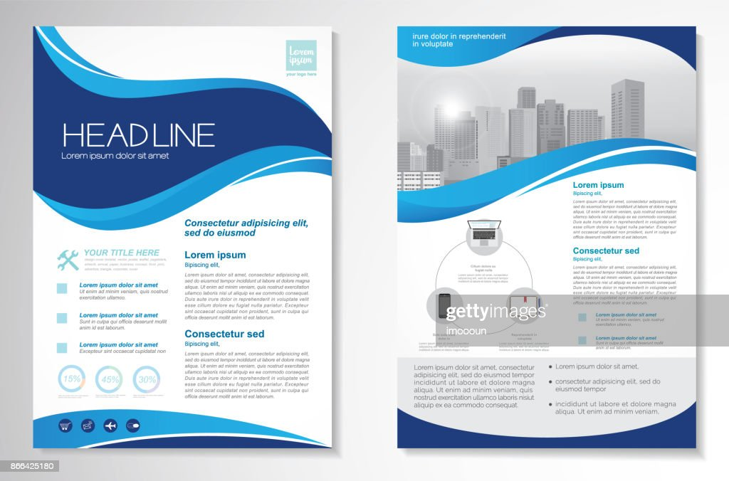 Vector Brochure Flyer design Layout template