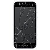 Vector broken Smart phone