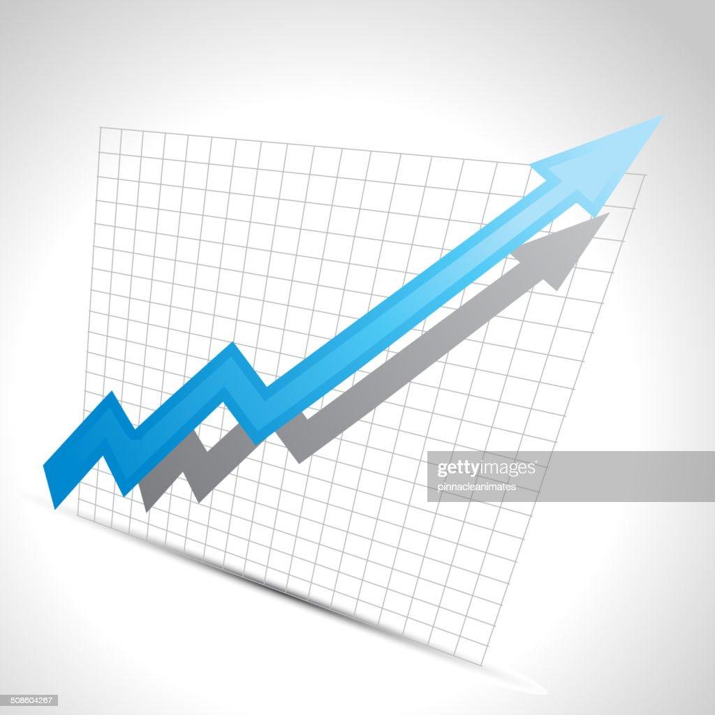 vector de flechas de negocios : Arte vectorial