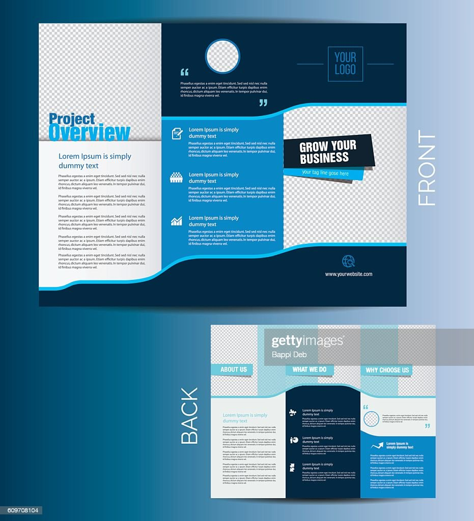 Vector Business Brochure Template Design