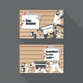 Vector Business card Design