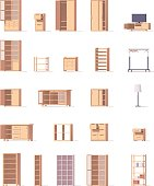 Vector cabinets set