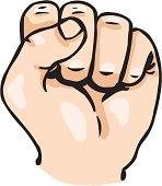 Vector Cartoon Fist