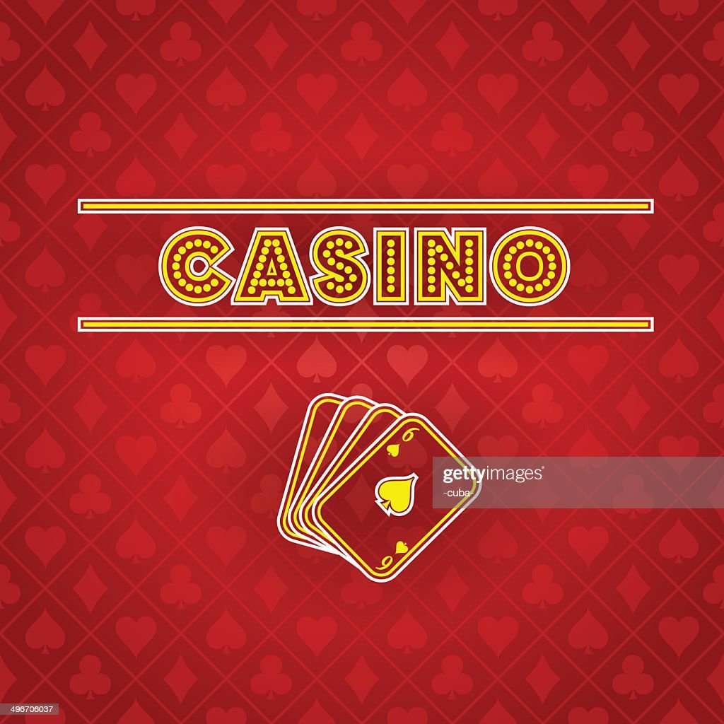 Vector casino background : stock illustration