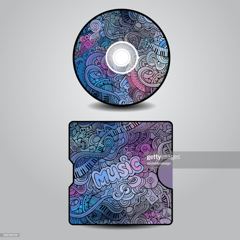 Vector CD cover design