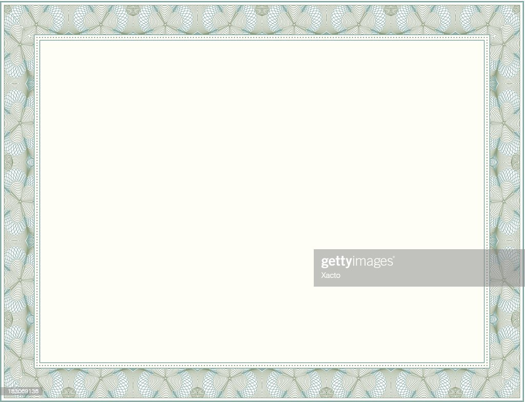 Vector Certificate Frame Vector Art | Getty Images