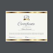 Vector certificate  (design template)