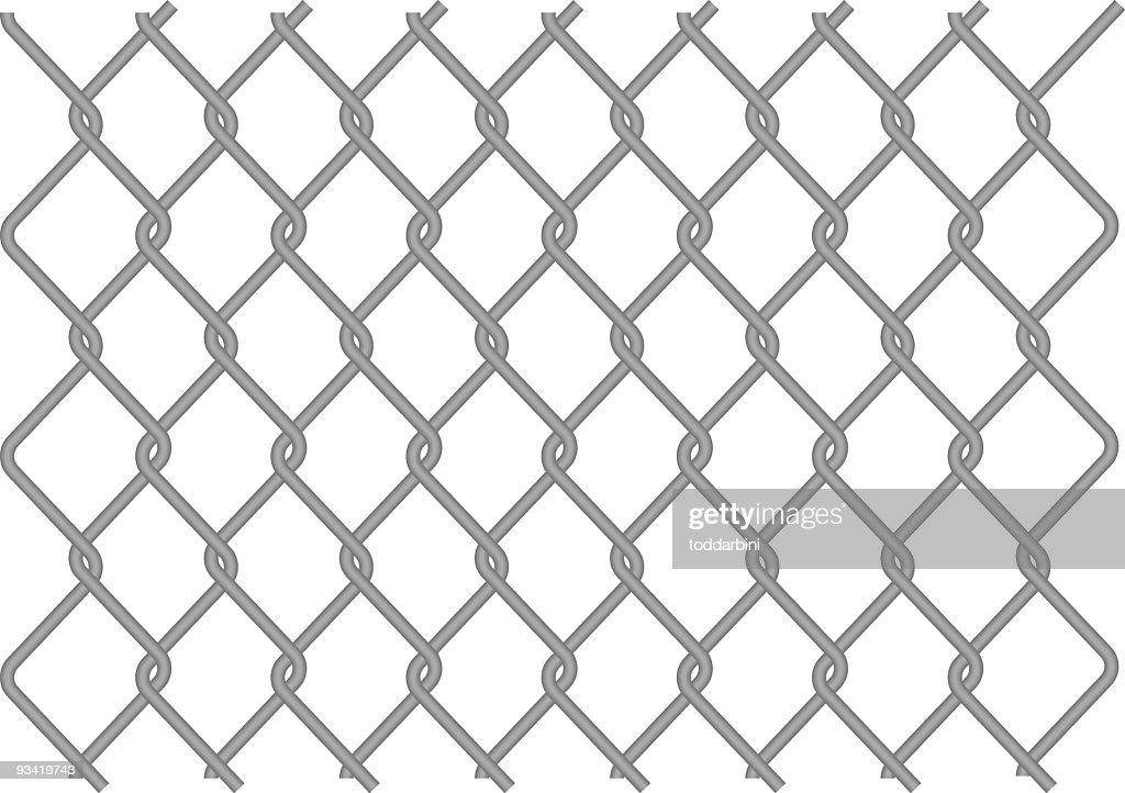 chain link fence vector. Vector Chain Link Fence : Art