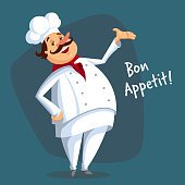 Vector Chef Character