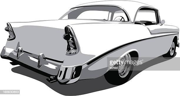 Vector Chevrolet Car from 1950's