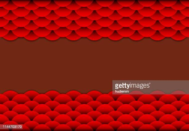 Vector Chinese Oriental traditional pattern frame background (Wave   pattern )