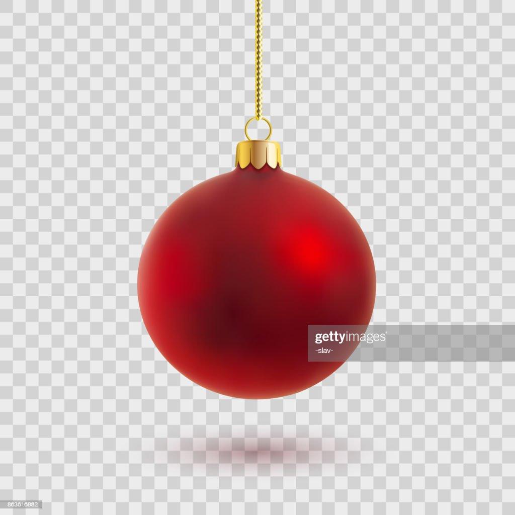 vector christmas ball