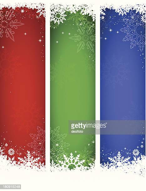 Vector Christmas Banners