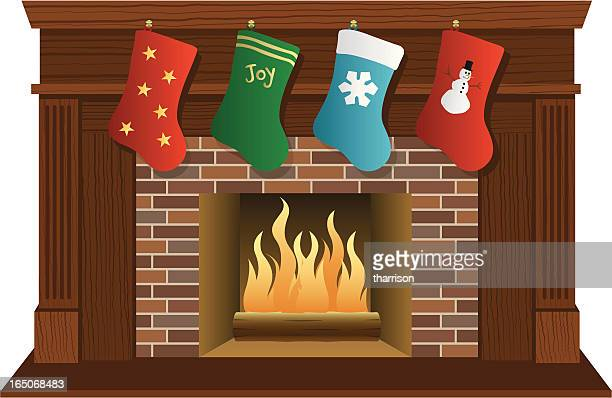 Worlds Best Fireplace Stock Illustrations Getty Images