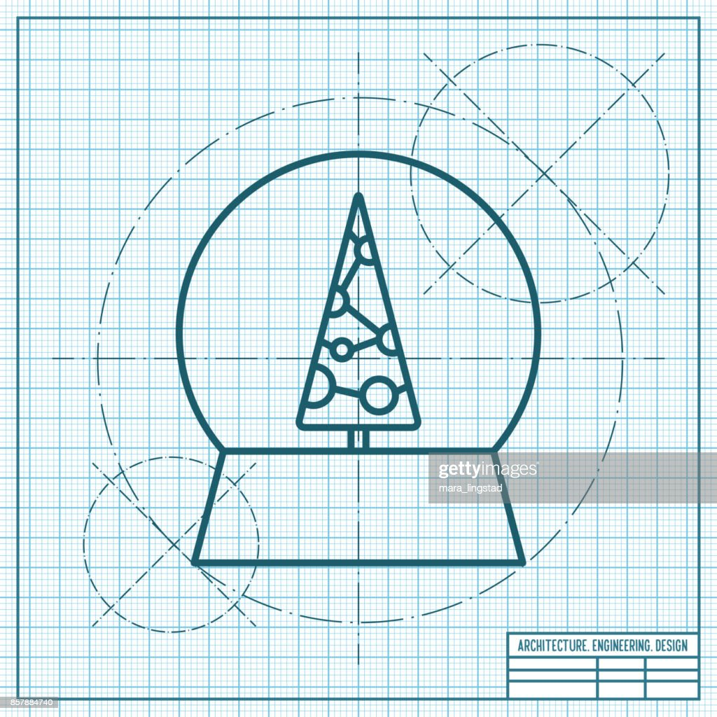 Vector christmas icon.