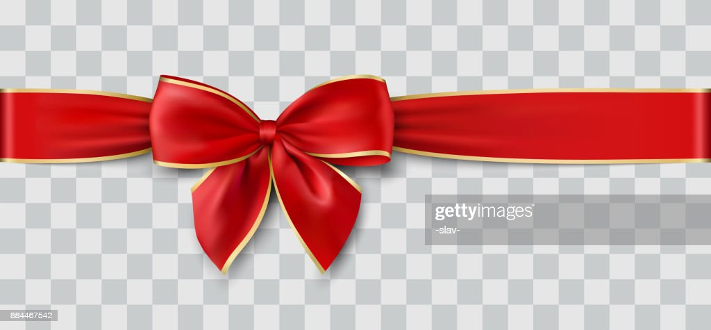 vector Christmas ribbon
