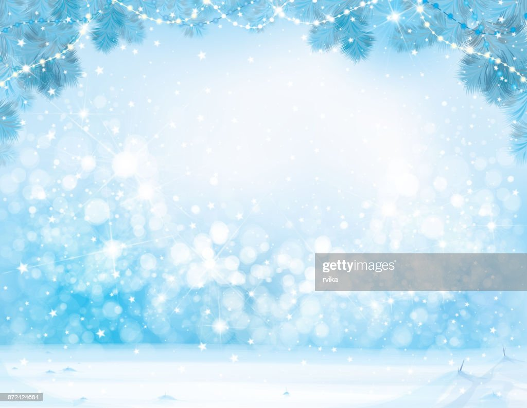 Vector  Christmas winter  background.