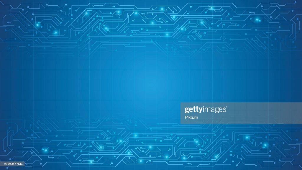 vector circuit texture background