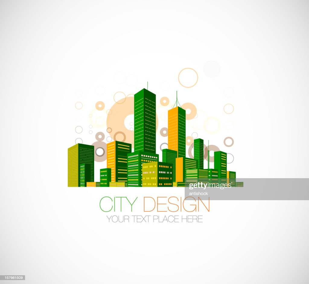 Vector city design