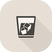 Vector Cold Drink Icon.