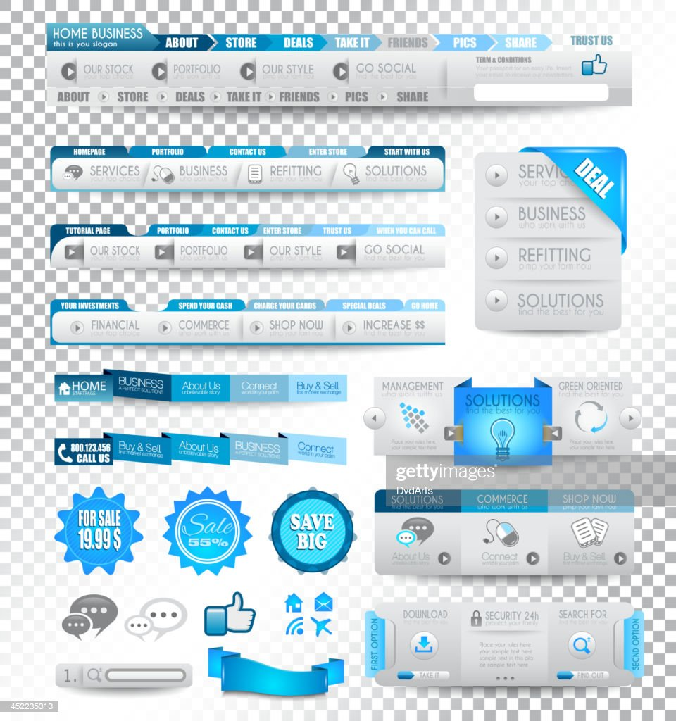 Vector collection of web elements