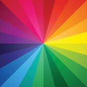 Vector color spectrum background